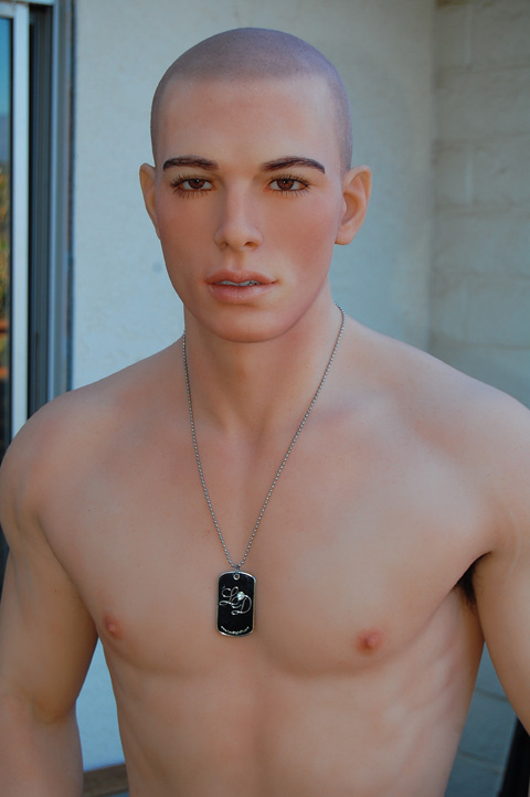 Male real doll sex